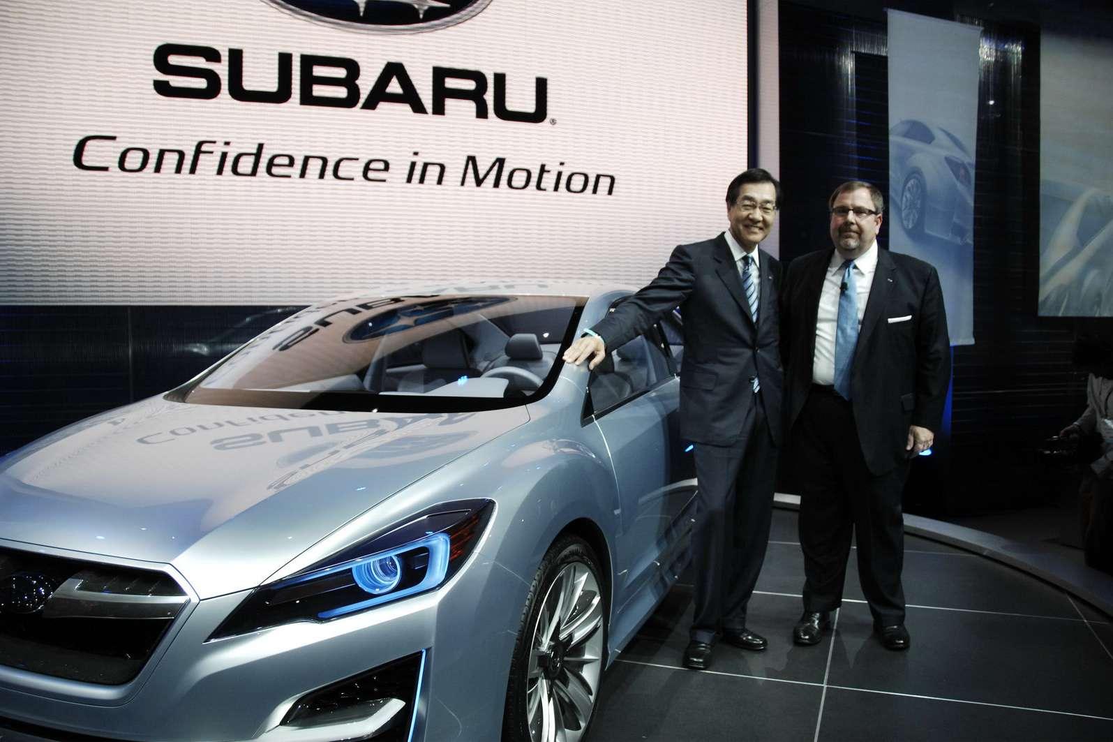 Subaru Impreza Concept listopad 2010