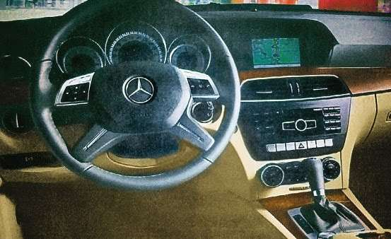 Mercedes C 2011 wyciekly zdjecia listopad 2010