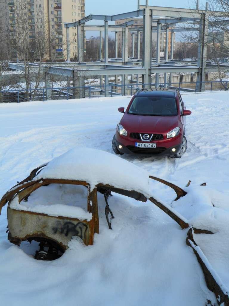 Nissan Qashqai test grudzien 2010