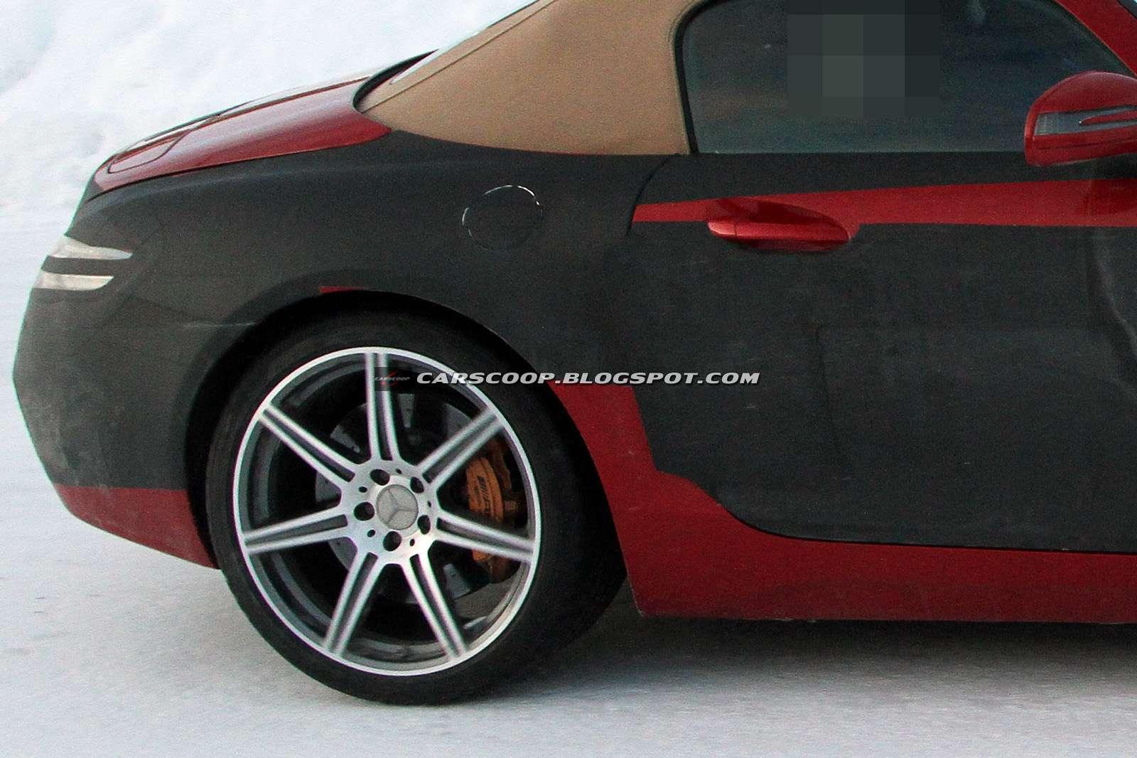Mercedes SLS AMG Roadster grudzien 2010