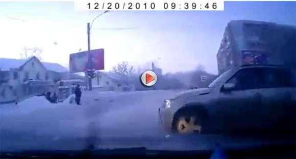 Wypadek dwóch pojazdów