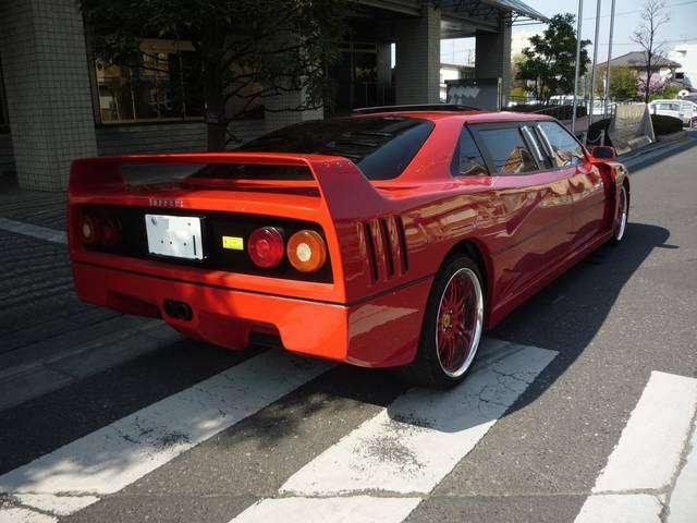 Ferrari F40 jako limuzyna japan grudzien 2010