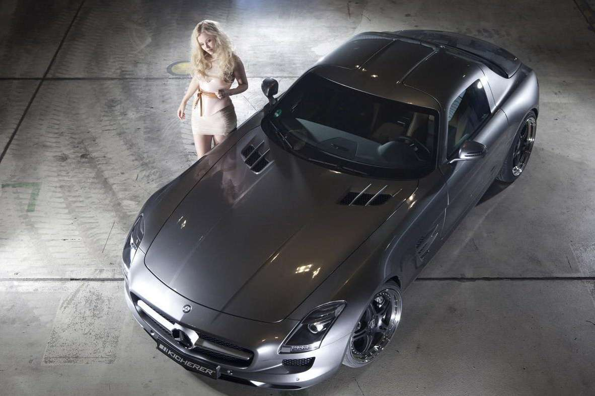 Mercedes SLS 63 Supersport od Kicherer grudzien 2010