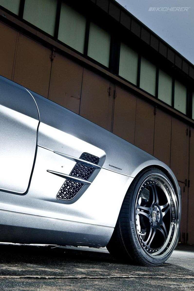Mercedes SLS 63 Supersport od Kicherer grudzien 2010