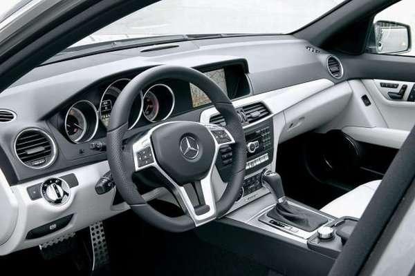 Mercedes C 2012 pierwsze zdjecia grudzien 2010