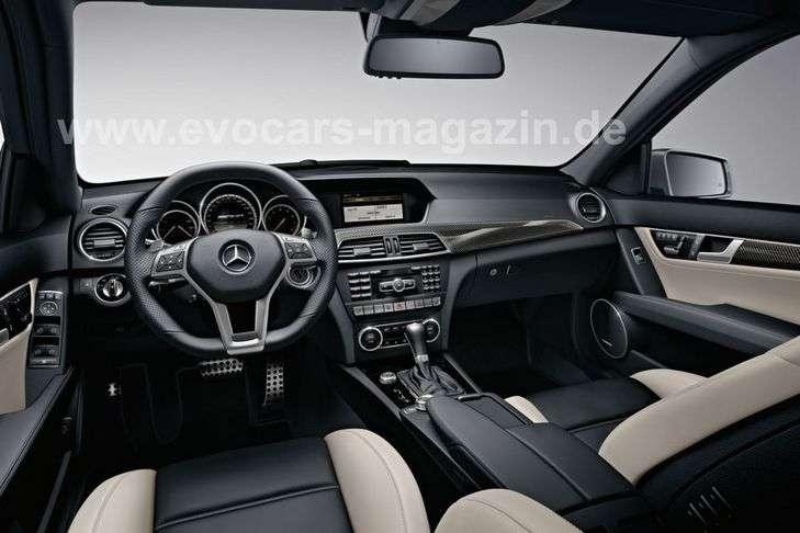 Mercedes C AMG leaked grudzien 2010