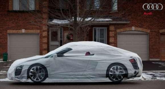 Audi R8 reklama