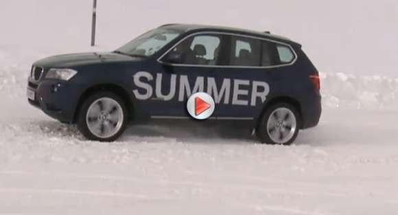 BMW X3 Snow