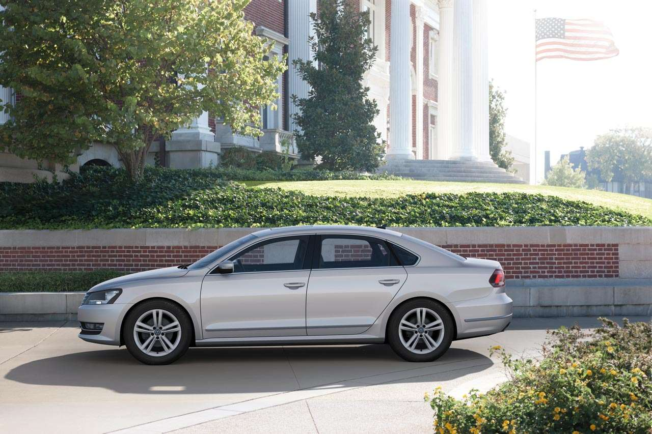 VW passat detroit usa version styczen 2011