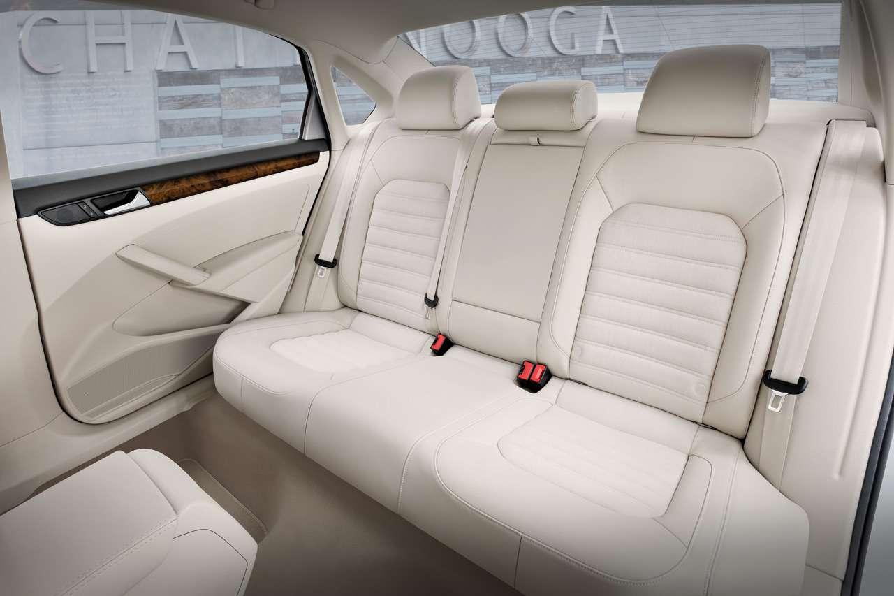 VW passat detroit usa version styczen 2011