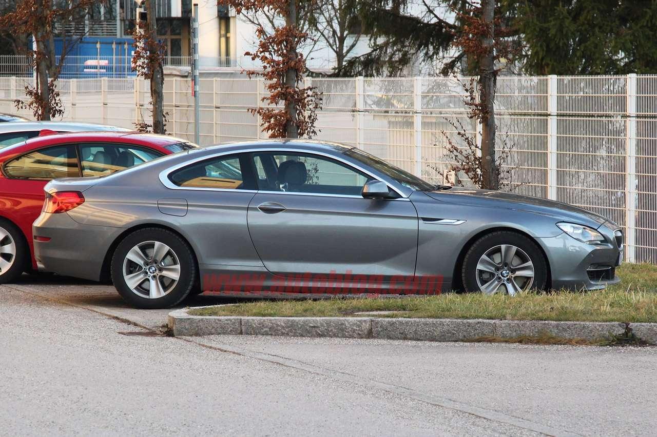 2012 BMW serii 6 coupe bez kamuflazu styczen 2011