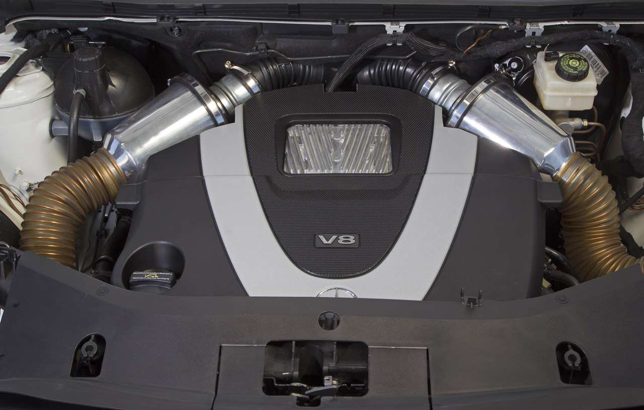 Mercedes B-klasa z V8 styczen 2011