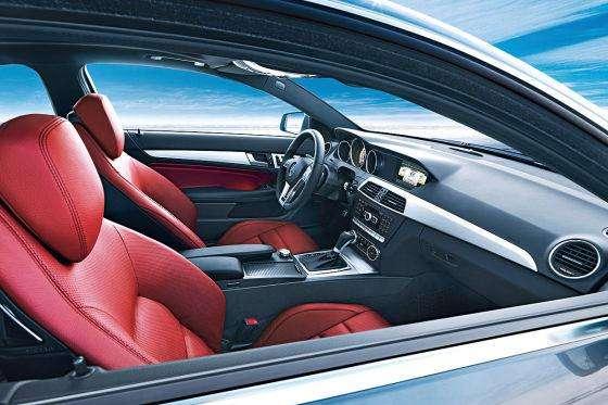 Mercedes C-Class Coupe pierwsze oficjalne styczen 2011