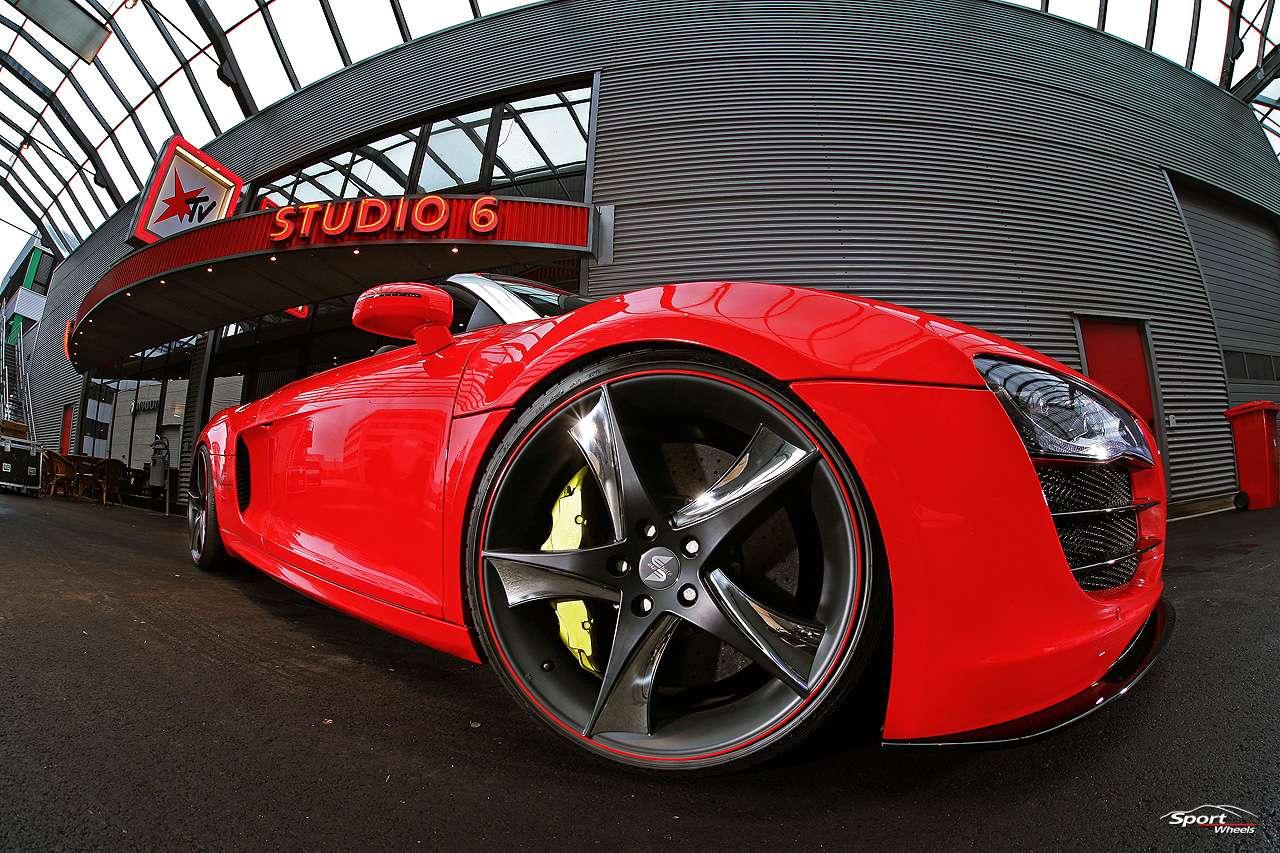 Sport Wheels Audi R8 V10 Spyder styczen 2011