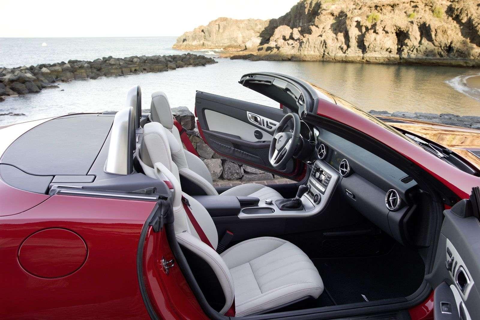 2012 Mercedes-Benz SLK Roadster oficjalnie styczen 2011