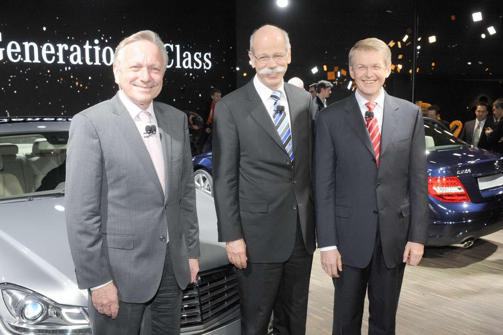Mercedes C-class 2012 from detoit styczen 2011