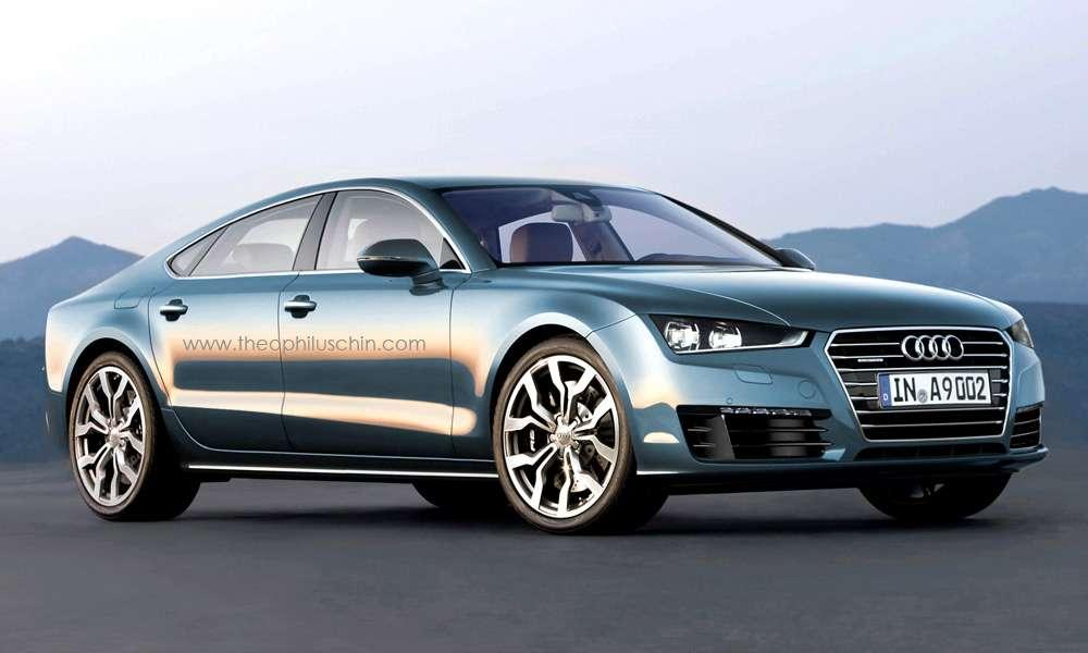 Audi A9 rendering Theophiluschin styczen 2011