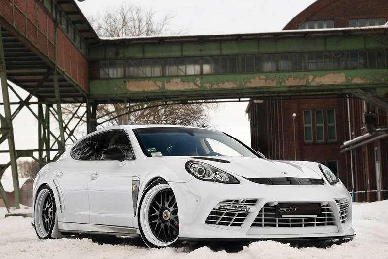 Porsche Panamera EDO Moby Dick styczen 2011