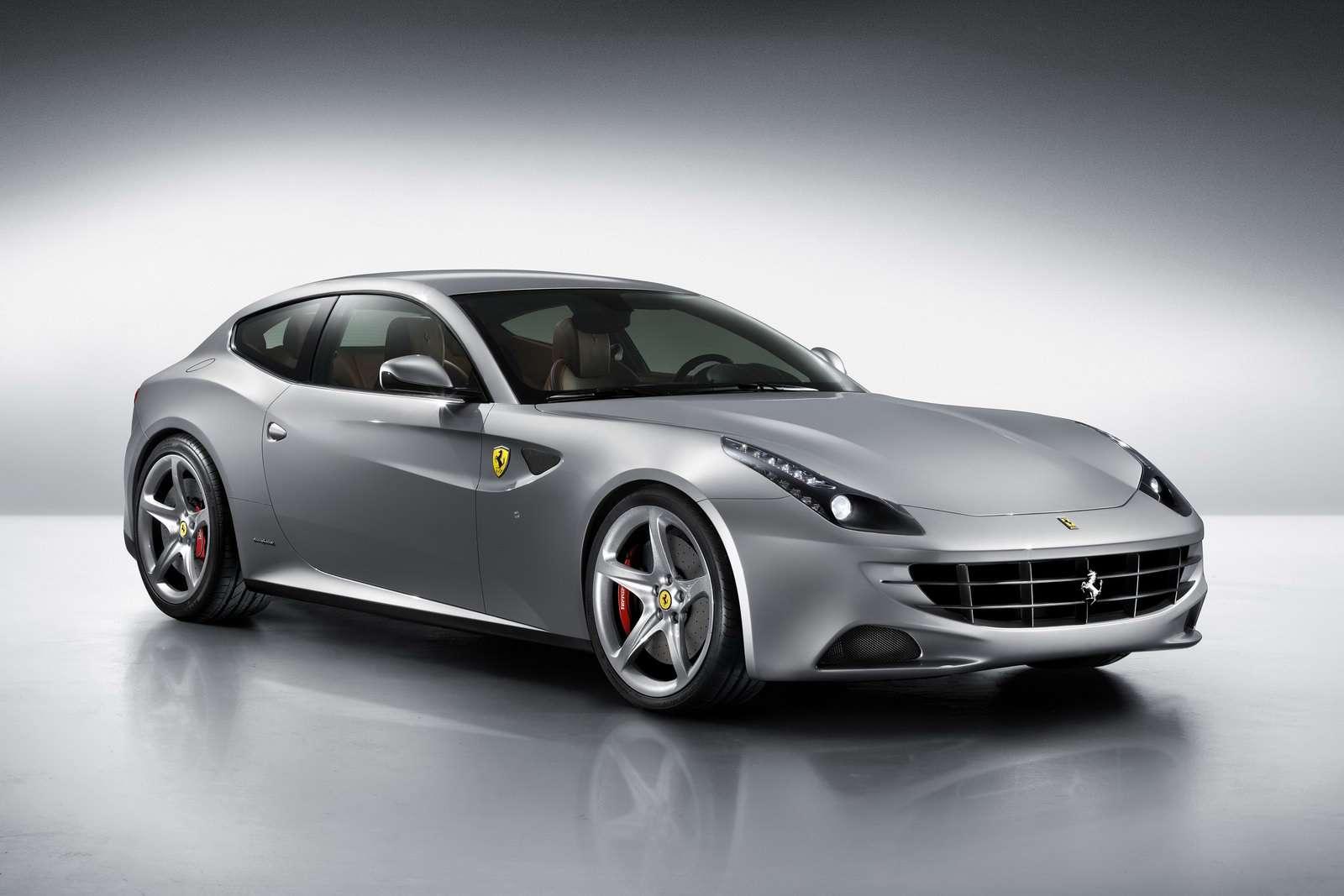 Ferrari FF szary fot styczen 2011