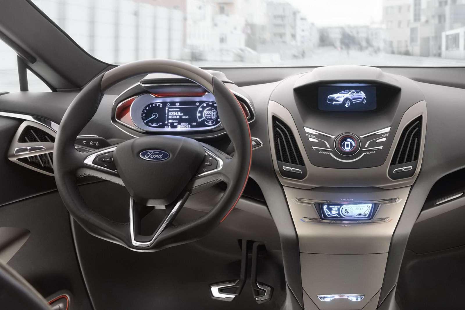 [DETROIT 2011] Ford Vertrek Concept, czyli wizja nowego ...