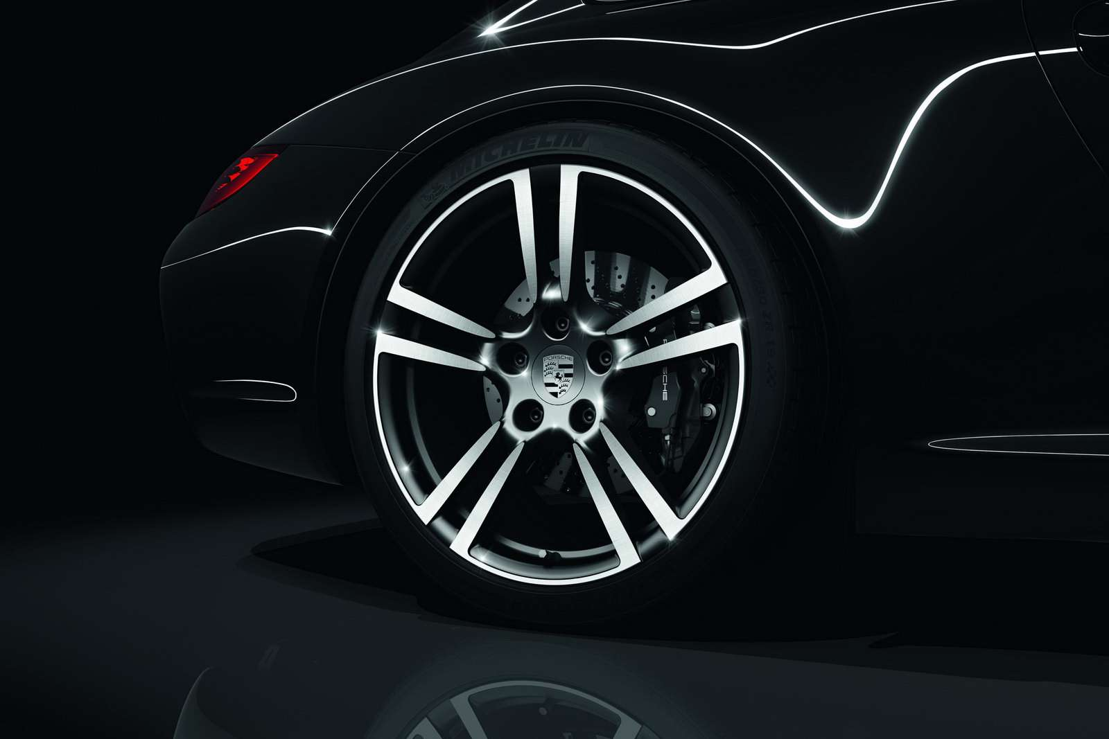 Porsche 911 Carrera Black Editions styczen 2011