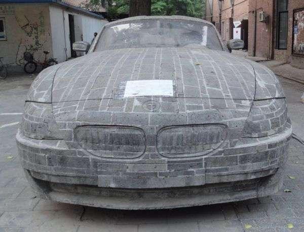 Chinskie BMW Z4 zbudowane z cegiel styczen 2011