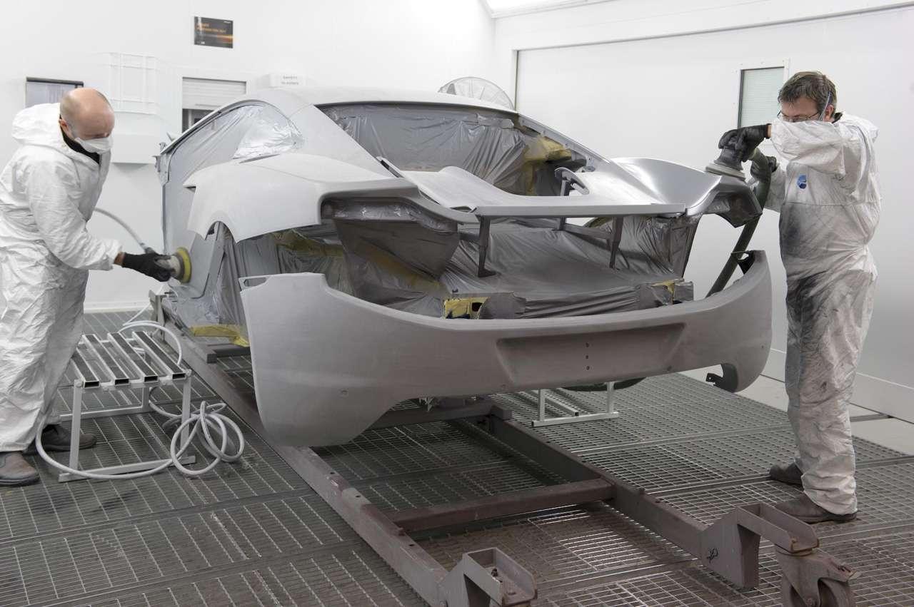 McLaren MP4-12C produkcja luty 2011