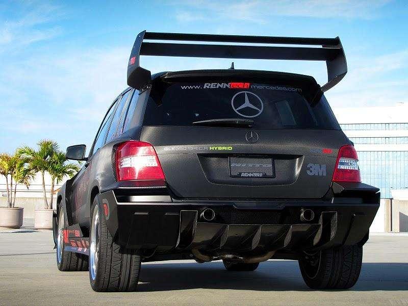Mercedes-Benz GLK Pikes Peak od RennTech fot luty 2011