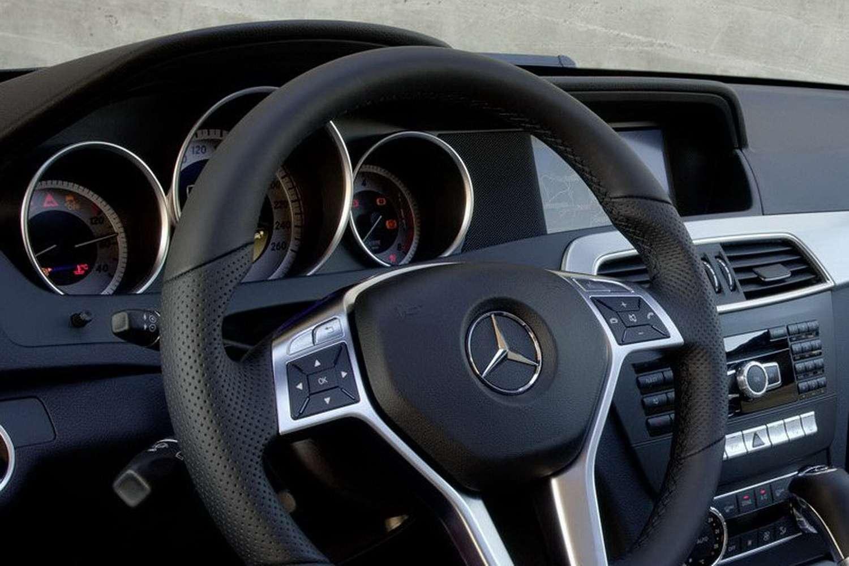 Mercedes C-coupe wyciek zdjec luty 2011