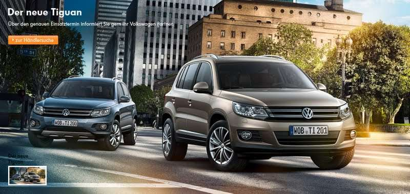 2012 Volkswagen Tiguan wyciek zdjec luty 2011