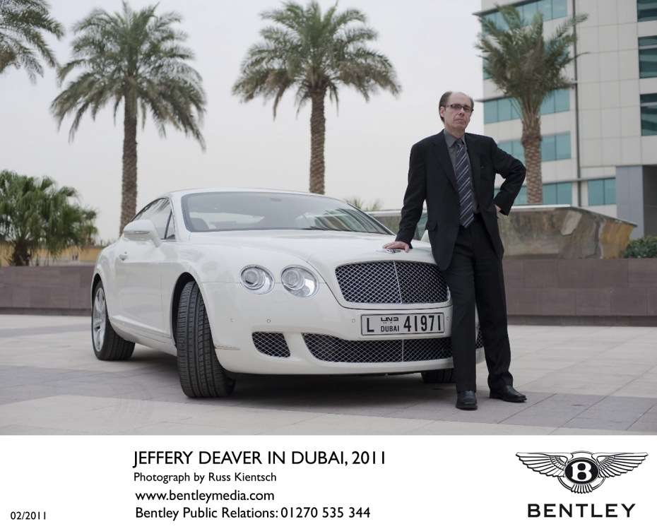 James Bond Bentley Continental GT luty 2011