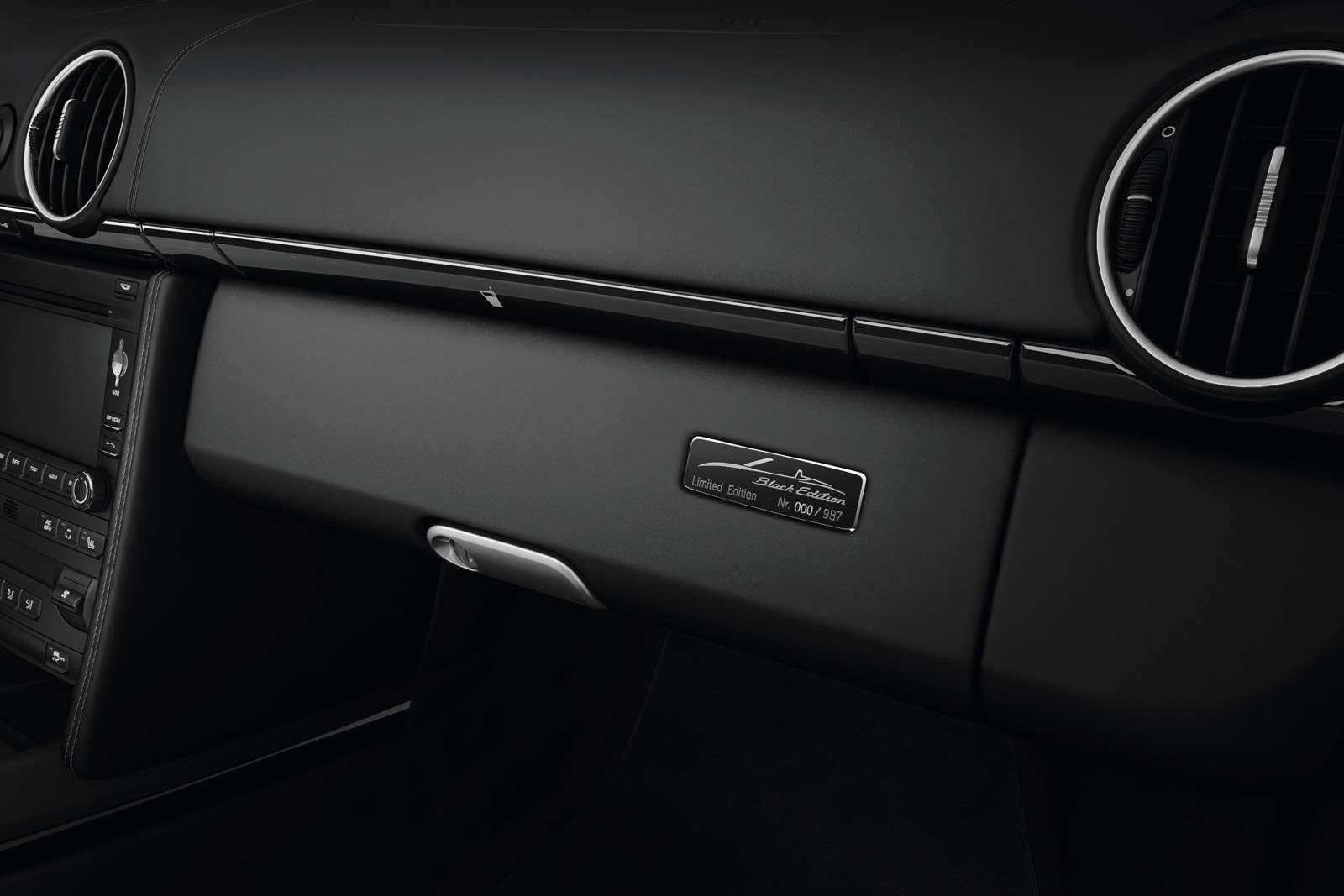 Porsche Boxster S Black Edition luty 2011