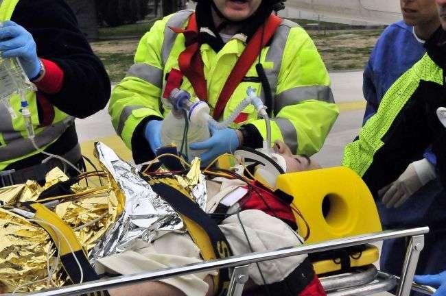 Wypadek Roberta Kubicy wlochy luty 2011