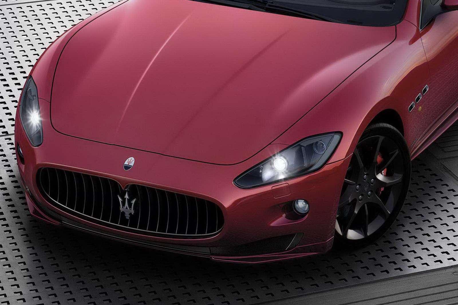 nowe Maserati GranCabrio Sport przed genewa motor show luty 2011