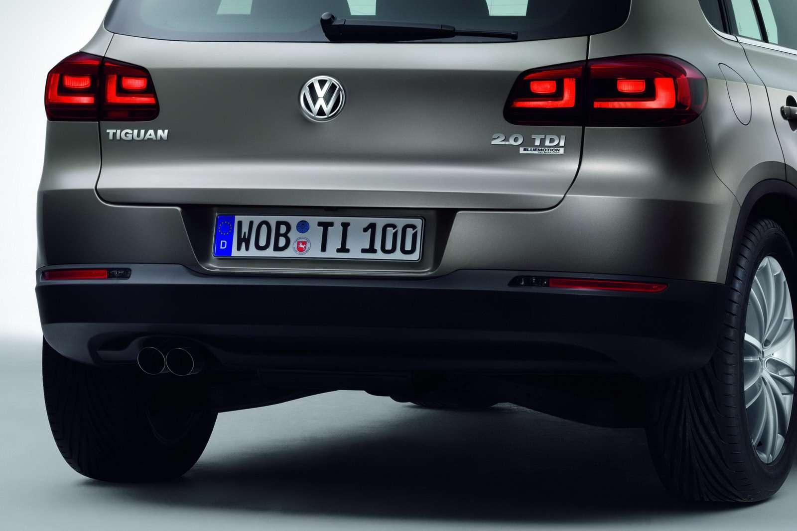 VW Tiguan SUV 2012 oficjalnie luty 2011