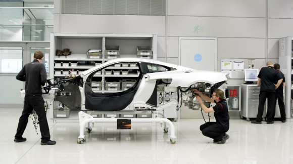 Produkcja McLaren MP4 12C