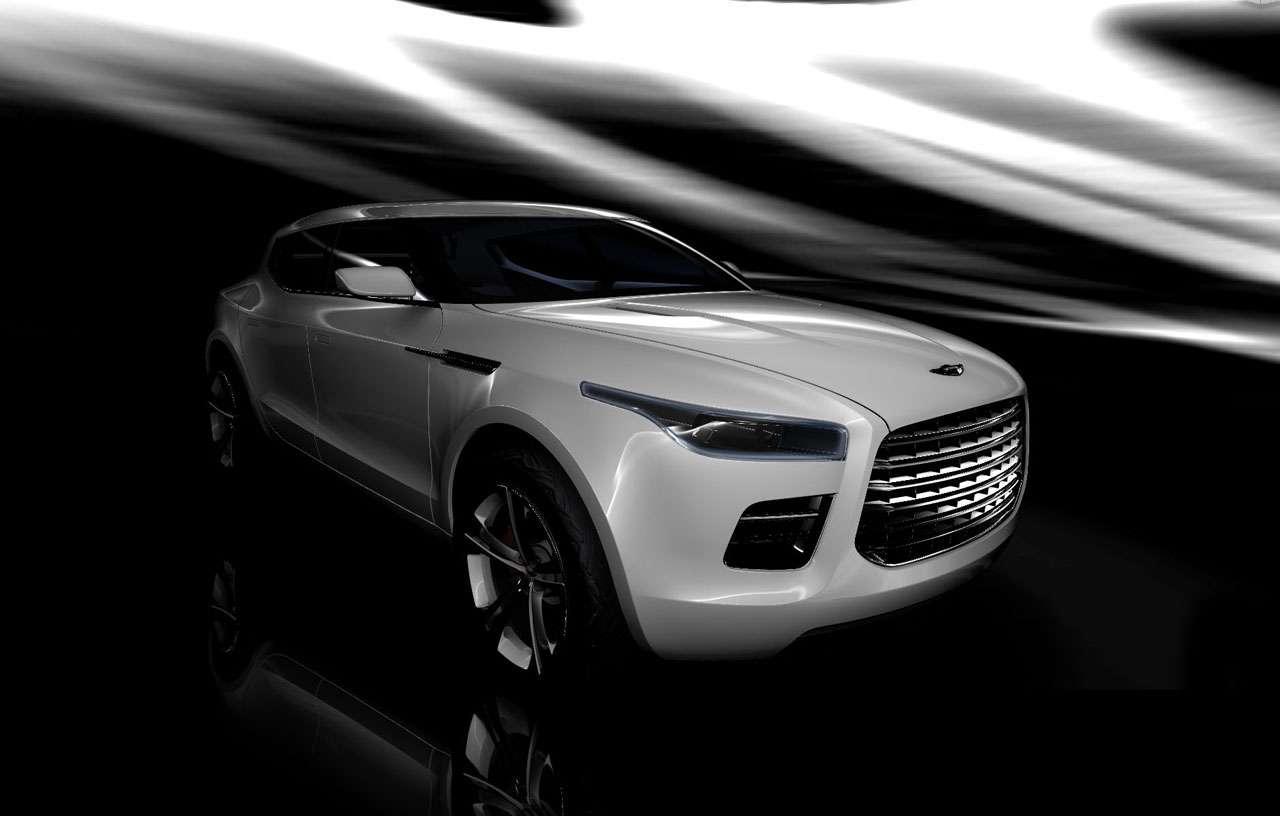 Aston Martin Lagonda Marzec 2011