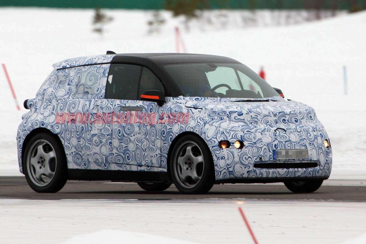 BMW i3 zdjecia szpiegowskie Marzec 2011