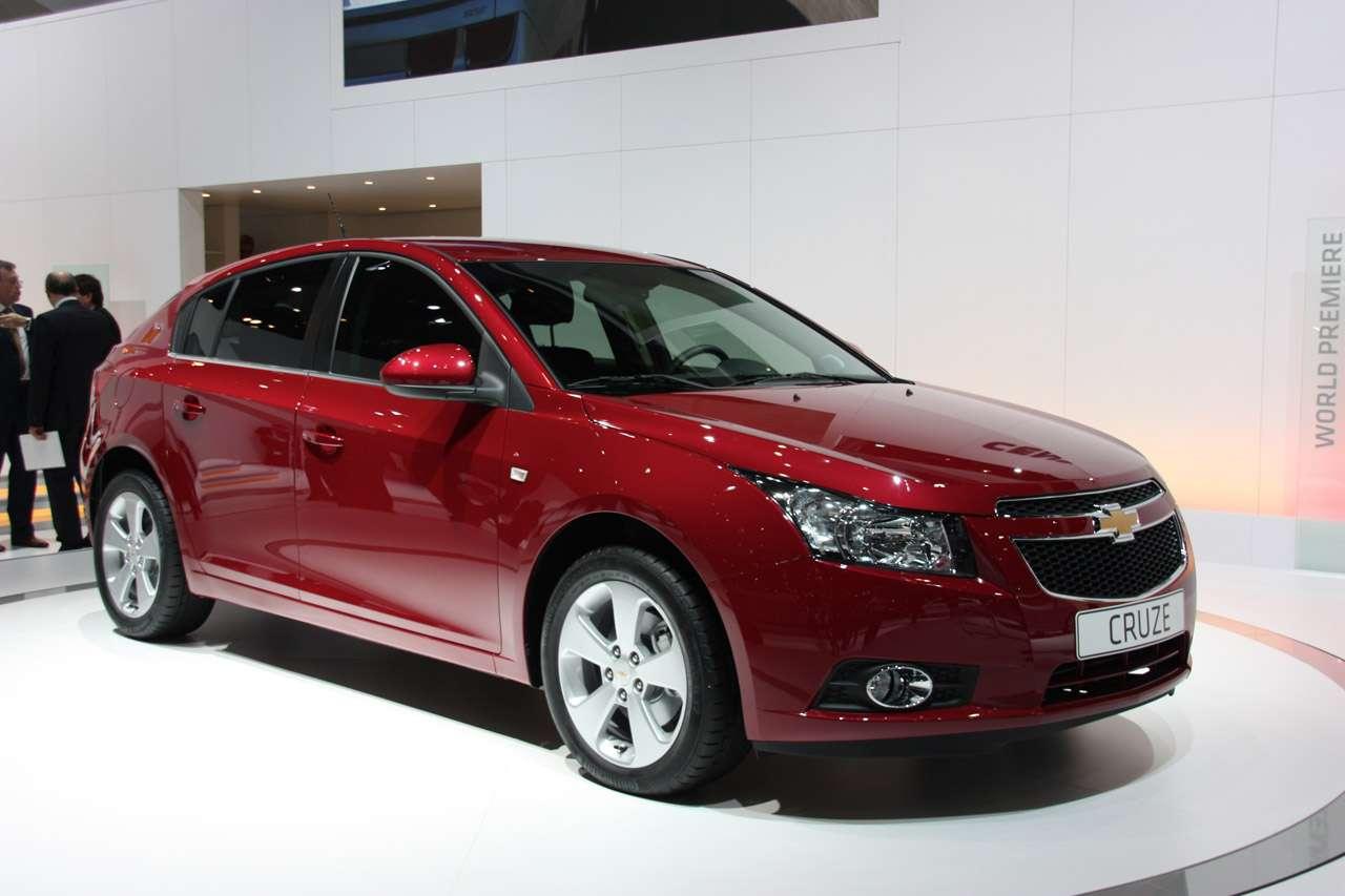 Chevrolet prezentuje Cruze Hatchback genewa marzec 2011