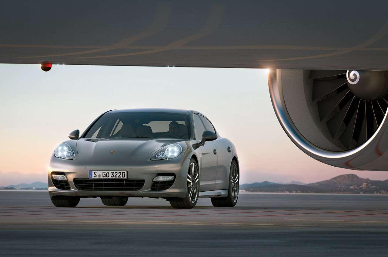 Porsche Panamera Turbo S Marzec 2011