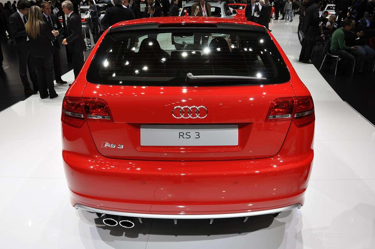 Audi RS3 genewa marzec 2011