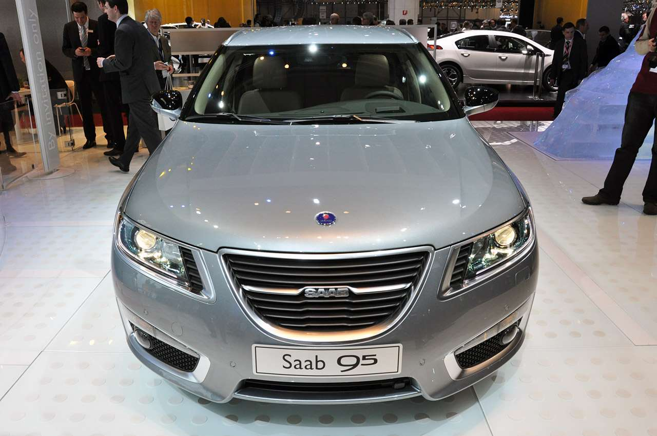 Saab 9-5 SportCombi genewa marzec 2011