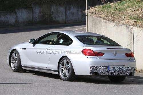 BMW M6 zdjecia szpiegowskie Marzec 2011