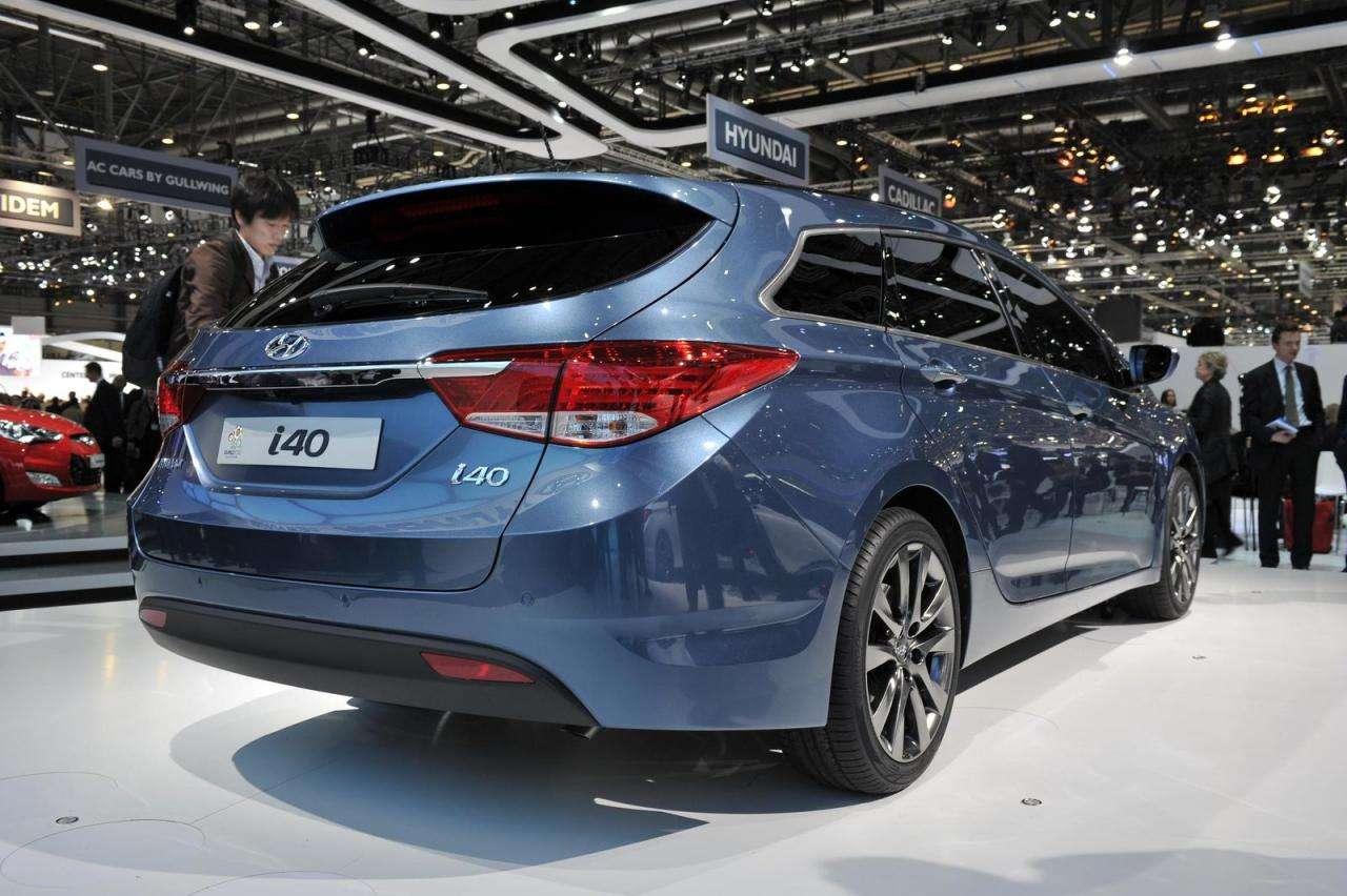 Hyundai i40 genewa marzec 2011