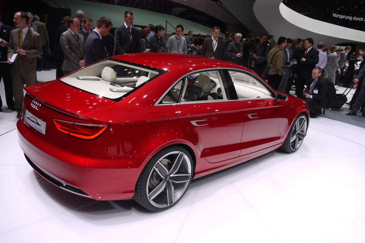 Koncepcyjne Audi A3 Sedan marzec 2011