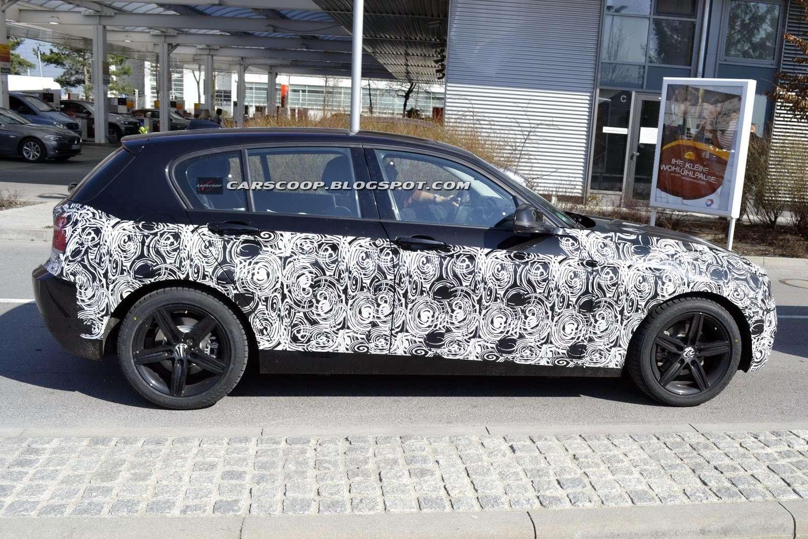 BMW 1 zdjecia szpiegowskie Marzec 2011