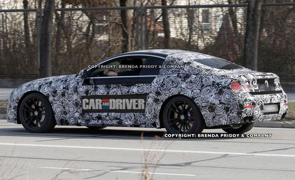 2012 BMW M6 (spy photo)