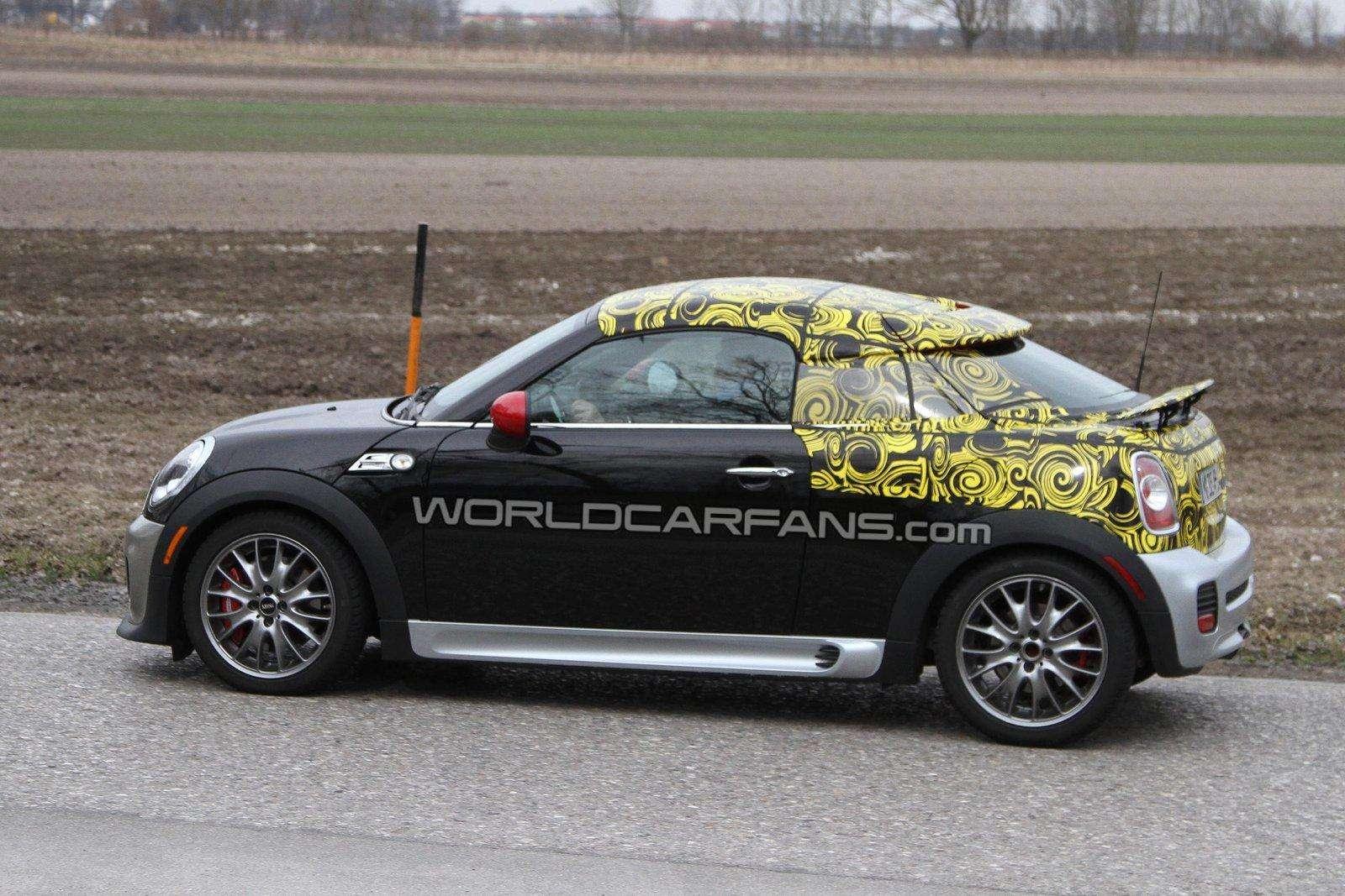 Mini Coupe zdjecia szpiegowskie Marzec 2011