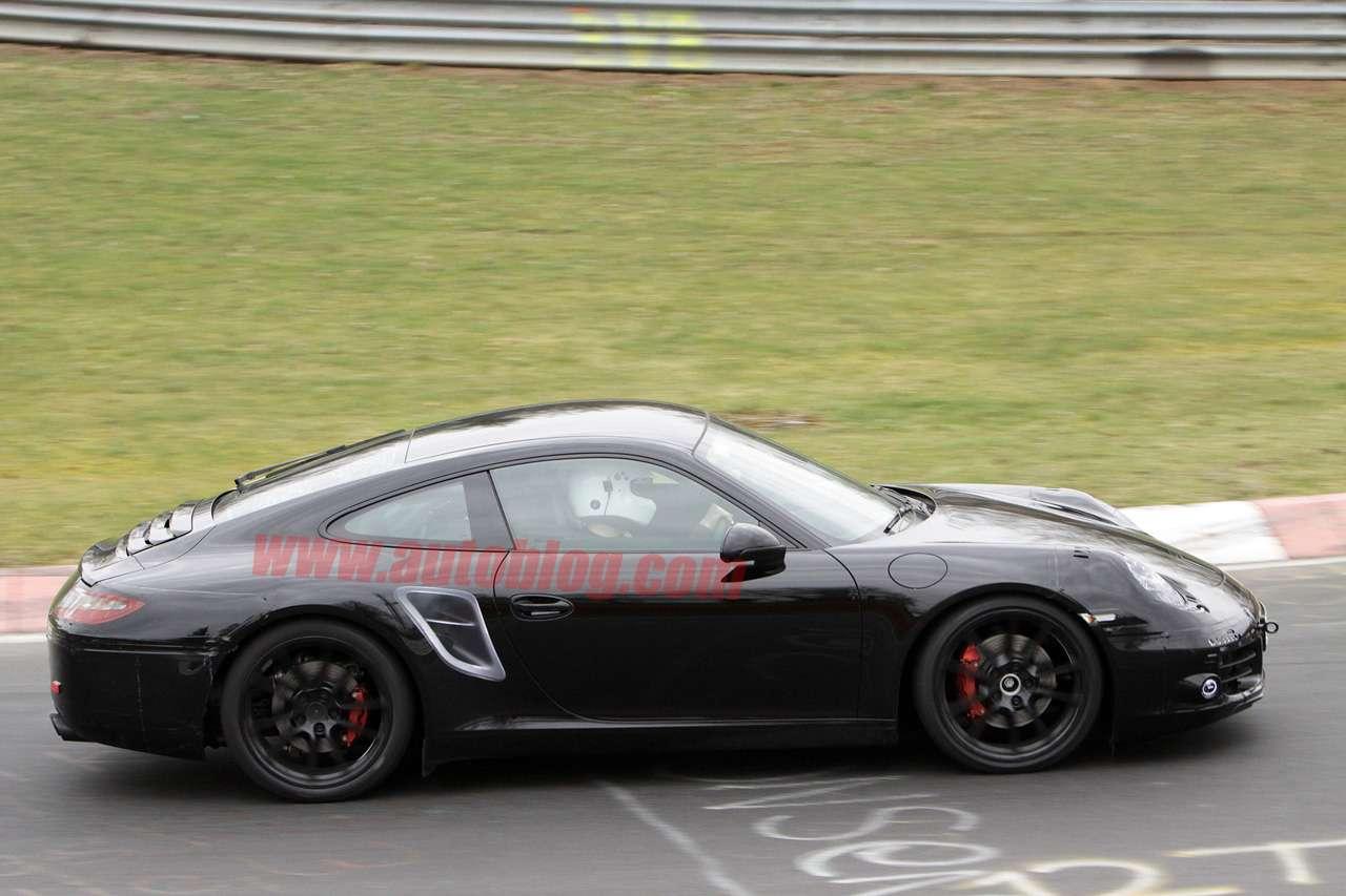 Porsche 911 coupe cabrio spy Marzec 2011