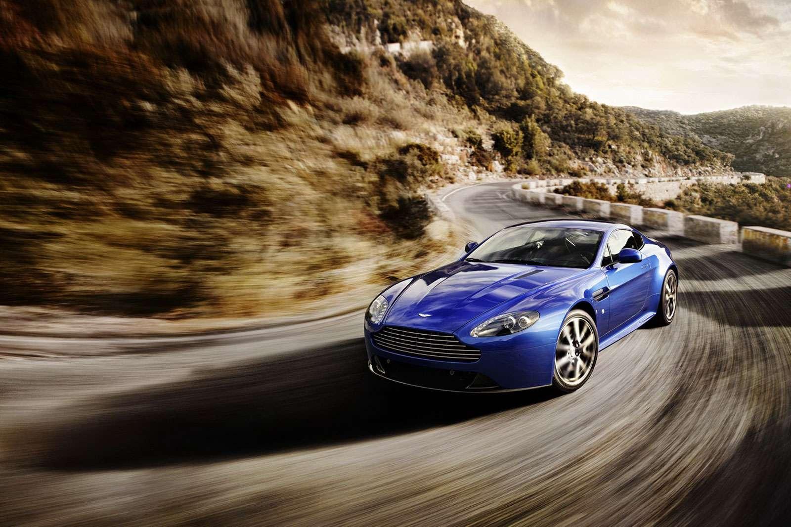 Aston Martin Vantage S wideo plus fot marzec 2011